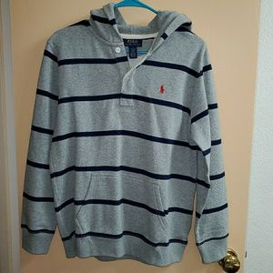 Boy's Polo Ralph Lauren Hoodie Sweatshirt Large